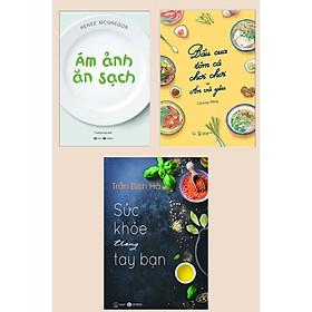 Combo 3 Cuốn Cẩm Nang Chăm Sóc Sức Khỏe: Bầu Cua Tôm Cá Chơi Chơi - Ăn Và Yêu + Ám Ảnh Ăn Sạch + Sức Khỏe Trong Tay Bạn - Tập 1 (Tuyệt Chiêu Ăn Sạch Sống Khỏe)