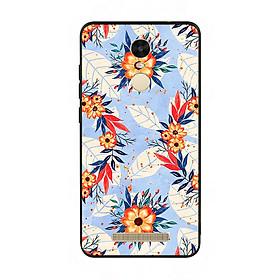 Ốp lưng viền TPU cho điện thoại Xiaomi Redmi Note 3 - Flower 16
