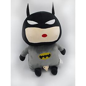 Thú Nhồi Bông/ Gấu Bông Cậu Bé Bút Chì Shin Batman 40 Cm (Tặng kèm móc khóa da bò thật màu ngẫu nhiên) BA00144