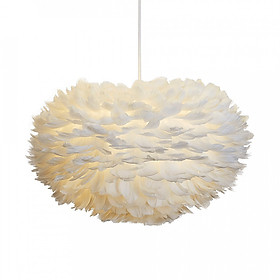 Feather Chandelier Feather Droplight Romantic with 3Color Bulb E27 Pendant Light Hanging Lamp