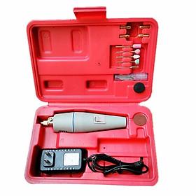 Bộ Máy Khoan Đa Năng Mini Hộp Đỏ 12V Tiện Dụng Nhỏ Gọn