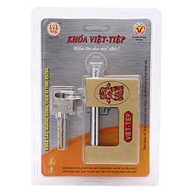 Ổ Khoá Việt Tiệp Cầu Ngang Loại Lớn Thần Tài 84 x 52 Ống Phi 10mm