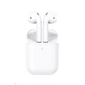 Tai Nghe Bluetooth Cảm Ứng 2 Bên TWS V5.0 Có Mic Hoco ES39 dock sạc không dây - Hàng nhập khẩu