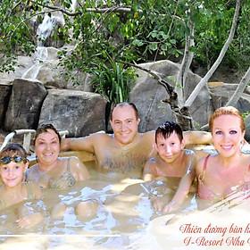 [Combo Tắm Bùn Đặc Biệt I-Resort Nha Trang] Trọn Gói Tắm Bùn, Ngâm Khoáng Thảo Dược, Tắm Suối Khoáng Nóng, Công Viên Nước Khoáng, Ăn Nhẹ (Áp Dụng Hồ 3 - 5/Khách)