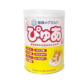 Sữa Snow baby số 0 (Megmilk Snow Brand Pure) sản phẩm dinh dưỡng cho trẻ 0-9 tháng tuổi