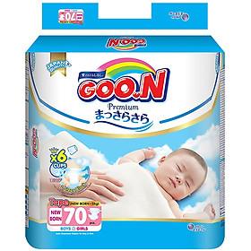Tã Dán Goo.n Premium Gói Cực Đại Newborn NB70 (70 Miếng) - Tặng thêm 8 miếng cùng size-1
