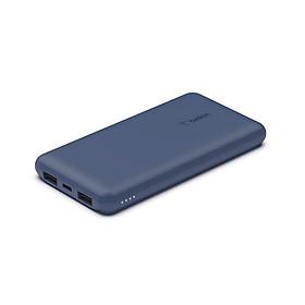 Pin sạc dự phòng Polymer Pocket Power 10,000 mAh, 15w PD, cáp đi kèm A-C Belkin - HÀNG CHÍNH HÃNG - BPB011bt