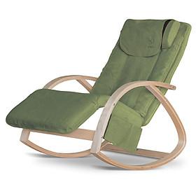 Ghế Massage Thế hệ mới - Vừa mát-xa vừa thư giãn Đồng thời là sản phẩm trang trí nhà cửa - Kích thước nhỏ gọn - Màu Xanh tươi mới - Thiết kế Hiện đại, trẻ trung