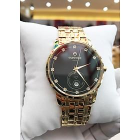 Đồng hồ nam Sunrise 1138SA-002 [Full Box] - Kính Sapphire, chống xước, chống nước - Dây thép không gỉ
