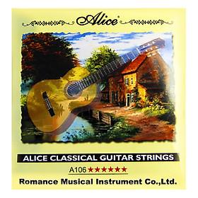 Dây Đàn Guitar Classic Alice A106P