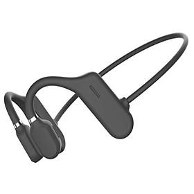 DYY-1 Bone Conduction Earphone Wireless Bluetooth 5.0 Headphone Ear Hook Comfortable IPX6 Waterproof Sports Headset With Mic