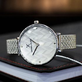 Đồng hồ nữ dây thép Daniel Klein DK.1.12256.1 , chính hãng full box , chống nước