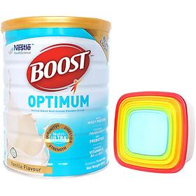 Sản Phẩm Dinh Dưỡng Nestle Boost Optimum (800g) - Tặng Bộ Hộp Cầu Vồng