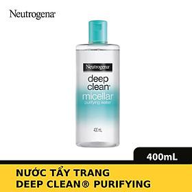 Nước tẩy trang Neutrogena Micellar 400ml