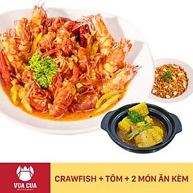 Vua Cua - Voucher Combo Crawfish & Tôm