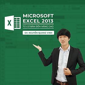 Microsofl Excel 2013 nâng cao cho người đi làm
