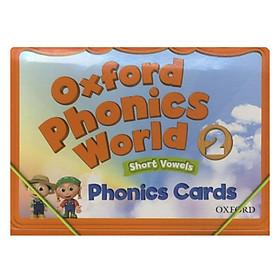 Oxford Phonics World Level 2 Phonics Cards