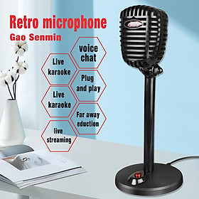 Computer Rotatable Usb  Microphone Drive-free Voice Chat Device Video Conference Microphone