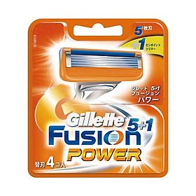 Hộp 4 Lưỡi dao cạo Gillette Fusion Proglide Flexball Power (nhật bản)
