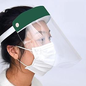 Tấm kính che mặt - mặt nạ bằng kính bảo hộ màu xanh lá cây