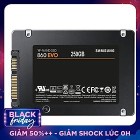 Ổ Cứng SSD Sata III 2.5 inch 250GB Samsung 860 Evo MZ-76E250 - Hàng Chính Hãng