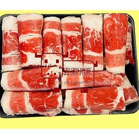 Ba chỉ bò Mỹ cuộn-beef shortblade USA