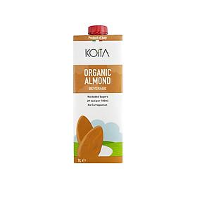 Nước ép (sữa) Yến mach - Hạnh nhân - Dừa hạnh nhân 1 lít (Koita)