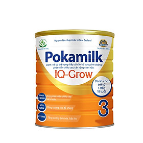 2 Hộp Sữa dinh dưỡng POKAMILK IQ GROW 400g