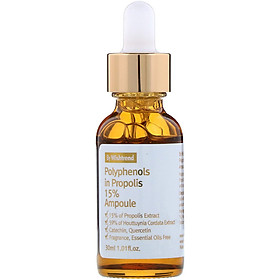 Tinh Chất Keo Ong Phục Hồi Da By Wishtrend Polyphenols In Propolis 15% Ampoule 30ml
