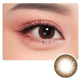 Kính áp tròng Hàn Quốc Clalen Iris dùng 1 ngày màu Alicia Brown