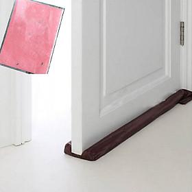 Combo 5 cặp thanh chắn khe cửa (ron chắn khe cửa) chống thoát hơi máy lạnh, máy điều hòa + tặng vỏ nhựa dẻo bao sổ hộ khẩu