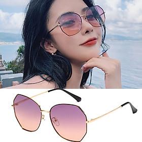 Kính mát nữ Kasawi Ka05  thiết kế phối màu trẻ trung , bảo vệ mắt khỏi ánh sáng trực tiếp chống tia UV - kính râm nữ lái xe