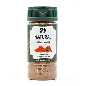 Natural Điều đỏ bột 50gr - Bột điều đỏ nguyên chất 100%