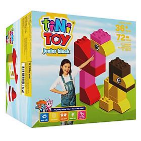 Đồ Chơi Lắp Ráp Junior Block Diy Creative Designer tiNiToy D58232