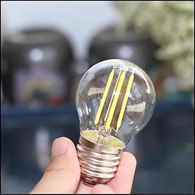 Bóng Đèn LED Edison G45-4W Ánh Sáng vàng