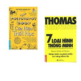 Combo 2 cuốn sách:  Cửa hiệu triết học + 7 loại hình thông minh