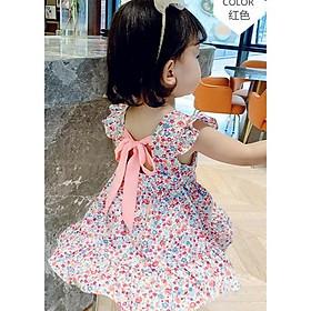 váy đầm công chúa sát nách cho bé gái 8-18kg