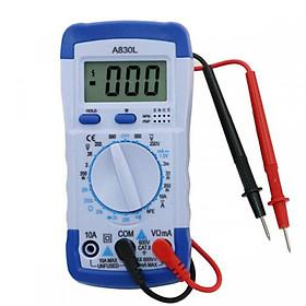 Đồng hồ vạn năng - đồng hồ đo dòng điện 1 chiều và xoay chiều tặng kèm pin 9v