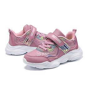 Giày bé gái kiểu dáng thể phong cách Hàn Quốc phù hợp cho trẻ em 3 - 12 tuổi, đế Eva siêu nhẹ, giày êm nhẹ kháng khuẩn phù hợp đi học, đi chơi, chạy bộ, Hàng chọn lọc siêu chất GE53