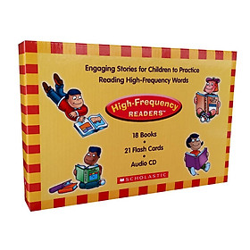 High-Frequency Readers Box Set With CD and Flashcard