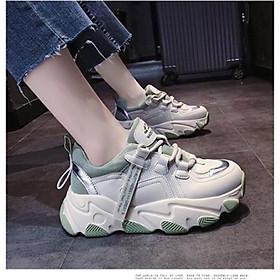 Giày thể thao sneaker nữ độn đế mẫu mới nhất, siêu đẹp, êm chân