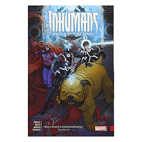 Marvel Comics: Imhumans: Once And Future Kings