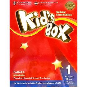 Kid's Box 2nd ed Activity Book with Online Resources Level 1