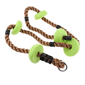 Durable Climbing Ropes Crawling Ladders Outdoor Playing Set
