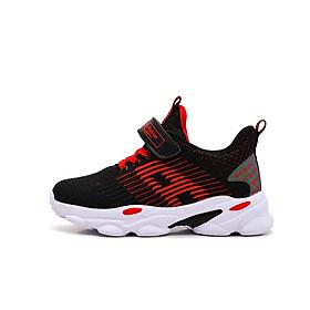 Giày Bóng rổ sneaker trẻ em nam cao cấp màu đỏ đế cao su non BB102