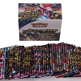 Bộ Thẻ Bài Pokemon 324 Thẻ Trading Card Game Ancient Origin TCG Sưu Tập Đẹp Đọc Đáo