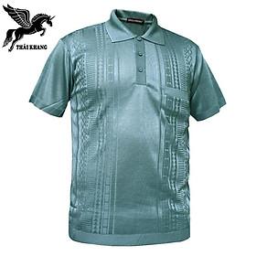 Áo mông tơ ghi nam hàng nhập loại 1 vải cực đẹp mềm mát co giãn tốt mặc thoải mái Thái Khang Fashion