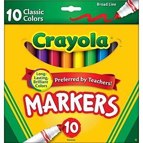 BÚT LÔNG Crayola 10 CÂY