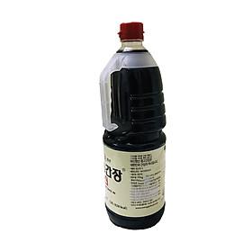 Nước Tương (Xì Dầu) Monggo Jin Hàn Quốc chai 1,8L