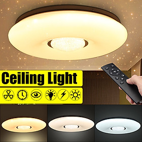54W 36 LED Ceiling Light Dimmable (Warm White/White/Nature White) Starlight Lamp Downlight with 2.4G Remote Control 2835SMD , AC180-240V Decor Home